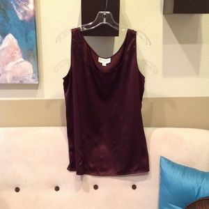 Emanuel Ungaro women's sleeveless top. Size 10.